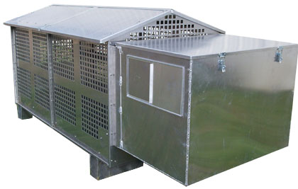 Portable Canine Kennels